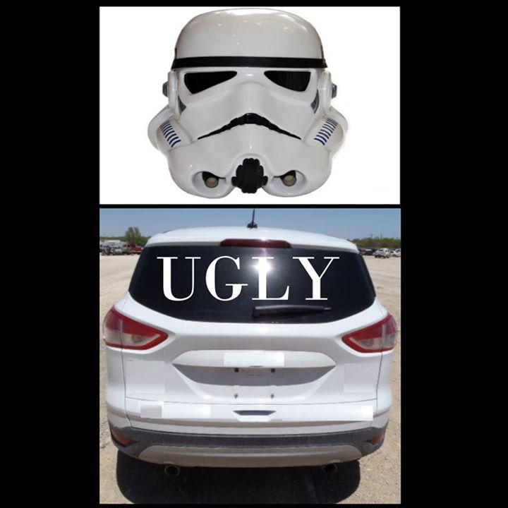 The Popular Star Wars Clone Helmet SUV