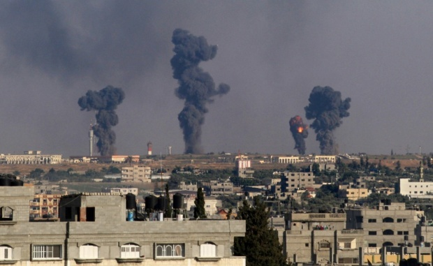 GazaStrikes.7July2014.AFP__0