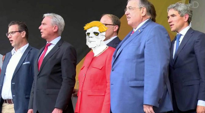 Angela Merkel and Friends 2017